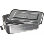 Metal Lunch Tin Silver madkasse fra Gentlemen's Hardware