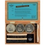 Gentlemen's Hardware - Shoe Shine Kit In Wood Box