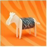 Luckies of London - Tape Dispenser Zebra