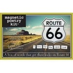 Magnetic Poetry - Magnetic Poetry Route 66