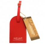 Ohlsson & Lohaven Luggage Tag Ecos-ecos Red - Kort