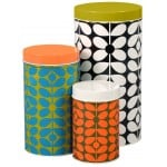 Orla Kiely - Canisters Set Of 3 60's Stem