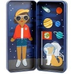 Petit collage - Mini Magnetic Dress-up Space