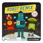 Petit collage - Mix & Match Magnetic Robots