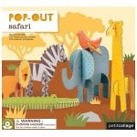 Petit collage - Pop-out Safari