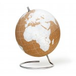 Suck UK - White Cork Globe Large