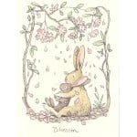Two Bad Mice - Greeting Card, Blossom