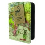 Wild & Wolf - Passport Cover Travel Vintage