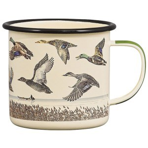 Image of   Gentlemen's Hardware 500 ml Emaljekrus - Lake & Ducks