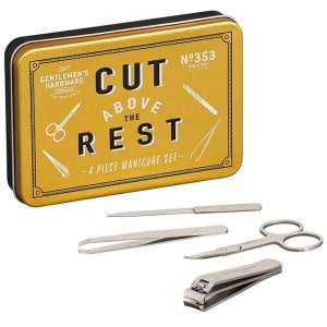 Image of   Manicure Set In Tin