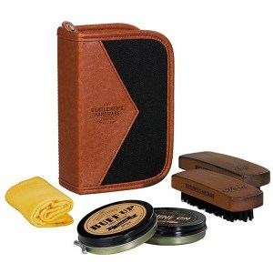 Image of   Shoe Shine Kit Charcoal
