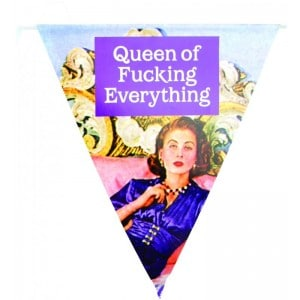 Image of   Bunting Queen Of F.e
