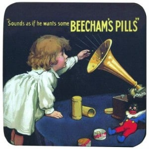 Image of   Coaster Beecham´s Pills