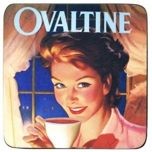 Image of   Coaster Ovaltine