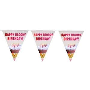 Image of   Flaggspel Party Bunting/happy