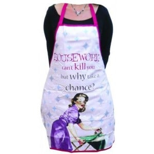 Image of   Förkläde Apron/housework Can´t