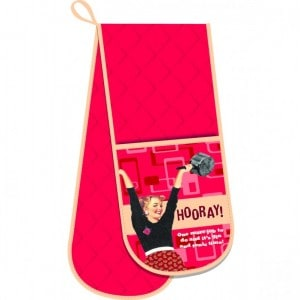 Image of   Grytlapp Oven Gloves/hooray!