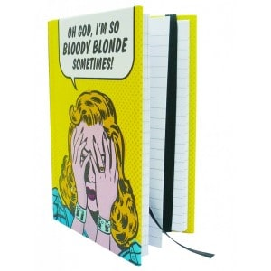 Image of   Journal Bloody Blonde