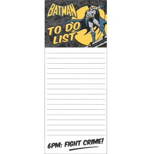 Image of   Magnetic Memo Pad Batman