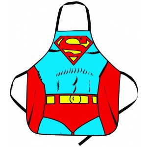 Image of   Superman Apron In Tube