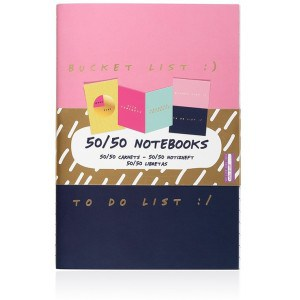 Image of   50/50 Notebooks Set Of 3