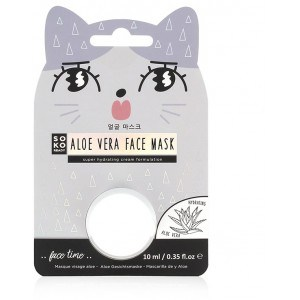 Image of   Aloe Vera Pod Mask Soko