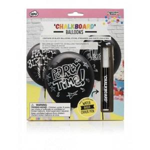 Image of   Balloons Chalkboard