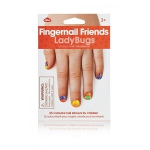 Image of   Fingernail Friends Ladybugs