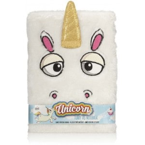 Image of   Furry Notebook Unicorn