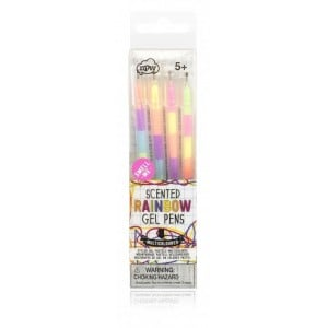 Image of   Gel Pens Rainbow Scented
