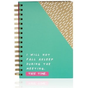 Image of   Notebook I Will Not Fall