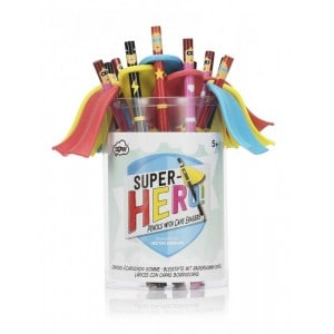 Image of   Pencils Superheroes