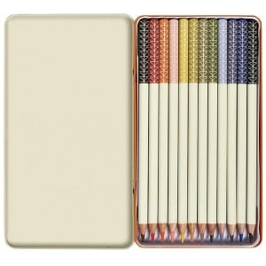 Image of   Colouring Pencils Linear Stem