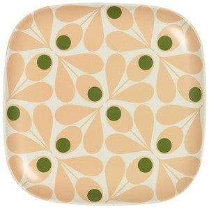 Image of   Side Plate Acorn Spot Rose