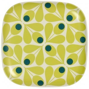 Image of   Side Plate Acorn Spot Yellow