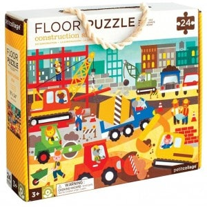 Image of   Floor Puzzle Construction