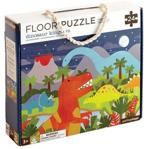 Image of   Floor Puzzle Dinosaurs