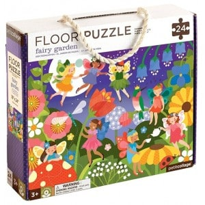Image of   Floor Puzzle Garden