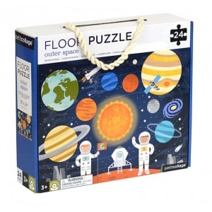Image of   Floor Puzzle Outer Space
