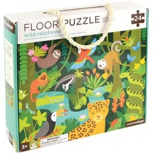 Image of   Floor Puzzle Rainforest