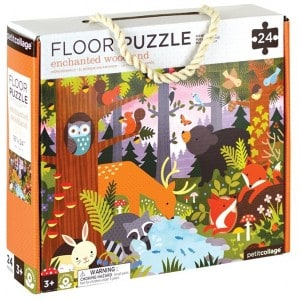 Image of   Floor Puzzle Woodland