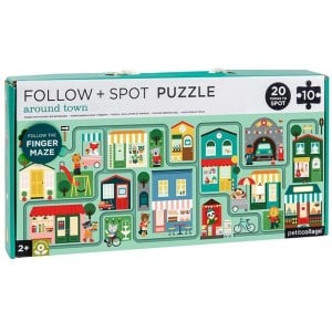 Image of   Follow Puzzle Town