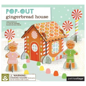 Image of   Pop-out Gingerbread House