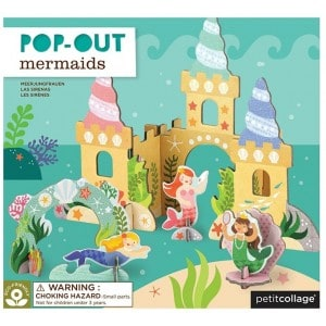 Image of   Pop-out Mermaid Castle