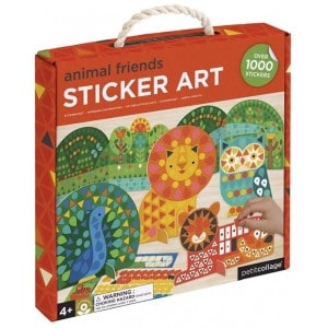 Image of   Sticker Mosaic Set Animals