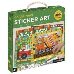 Image of   Sticker Mosaic Set Vehicles