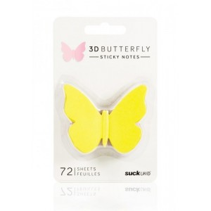 Image of 3d Sticky Notes Butterfly