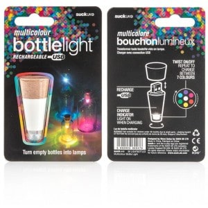Image of   Bottle Light Multicolour
