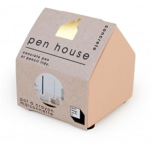 Image of   Concrete Pen House Pink
