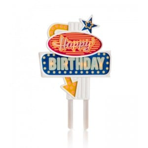 Image of   Flashing Cake Topper